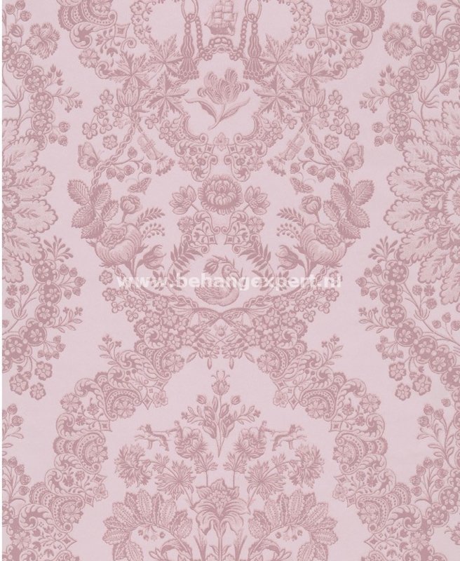 Eijffinger PiP Studio behang 375043 Lacy Dutch Zachtroze