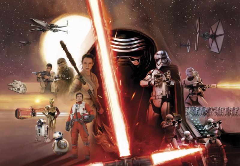 Komar fotobehang 8-492 Star Wars Ep7 Collage