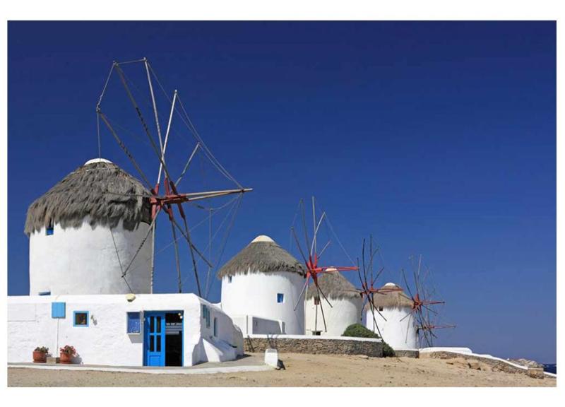 Fotobehang Windmolens