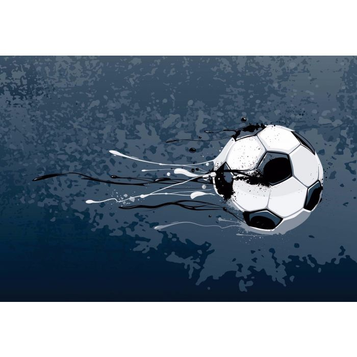 Fotobehang  Football Stars: Shoot
