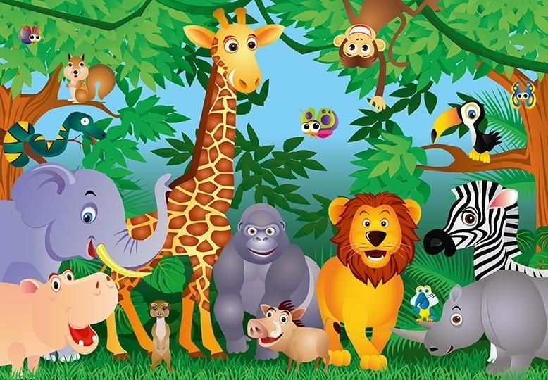 Fotobehang Idealdecor 00122 In the Jungle