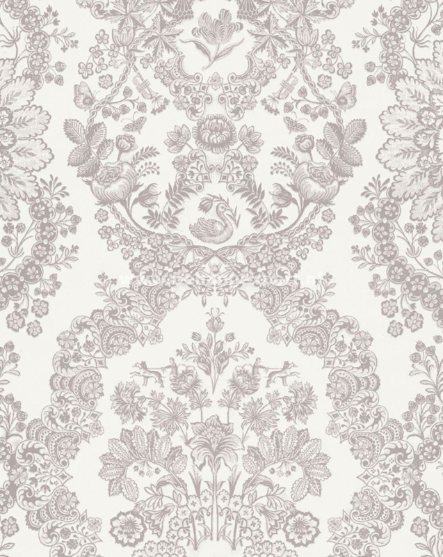 Eijffinger PiP Studio behang 375040 Lacy Dutch Khaki