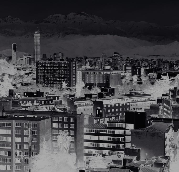 Fotobehang City Love CL72A Santiago