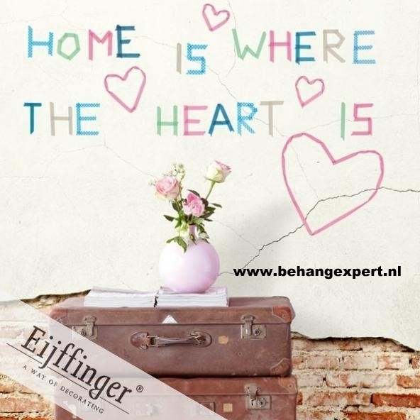 Eijffinger Wallpower Wonders Home is where the Heart is 321556