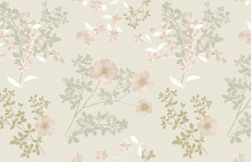 Behang Boras Tapeter- In bloom 7231