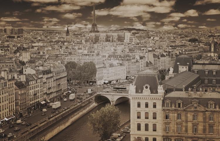 Fotobehang City Love CL09C Paris