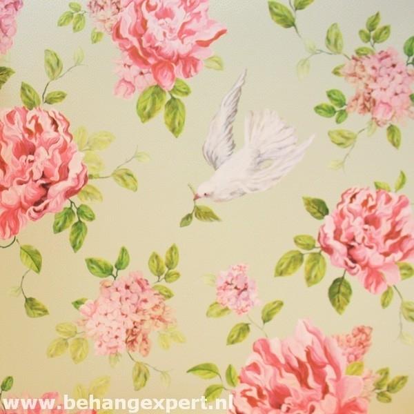 Behang Eijffinger Un Bisou 365037 rozen