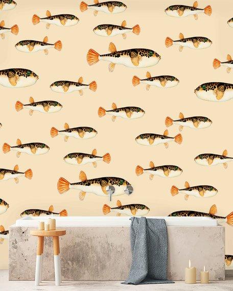 Creative Lab Amsterdam Follow My Fin 300cm x 280cm hoog