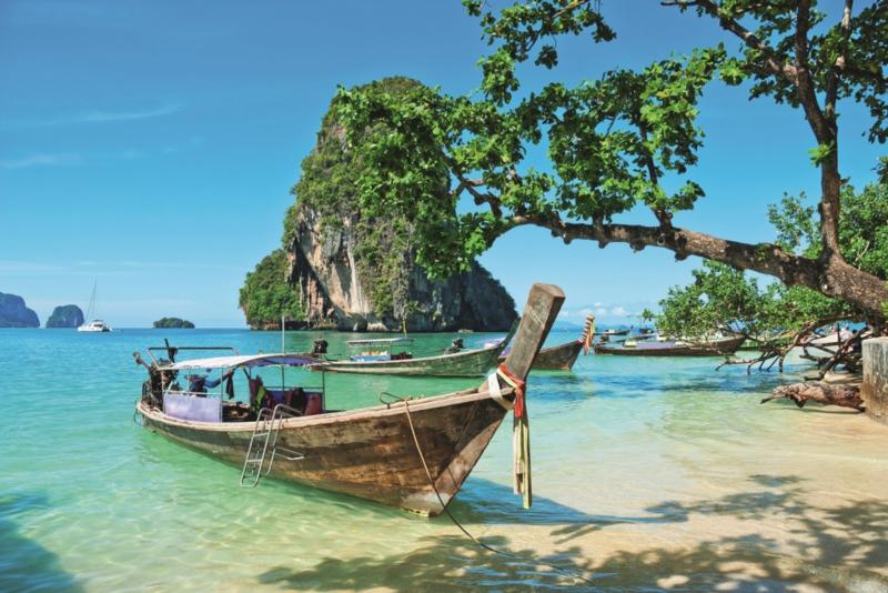 Fotobehang Thailand boot