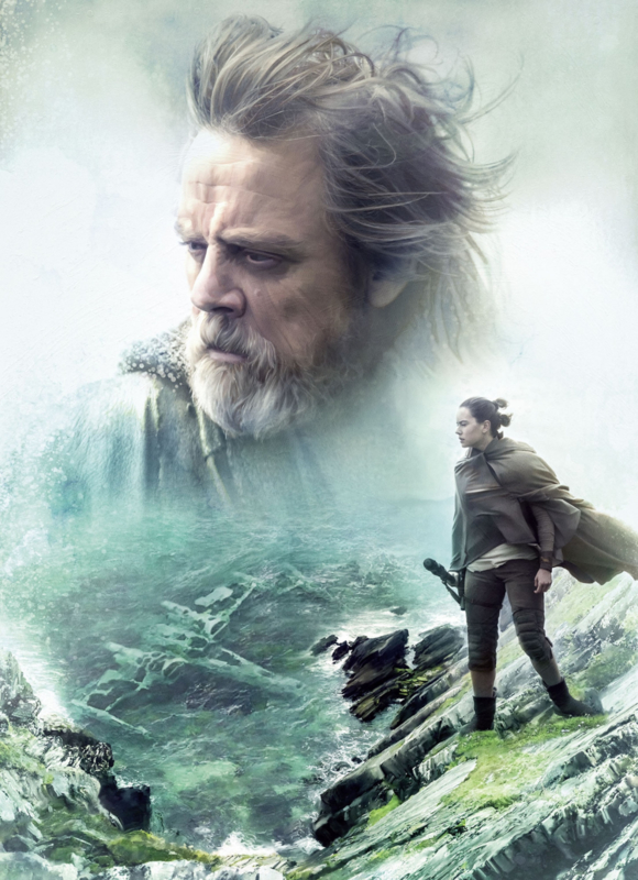 Komar fotobehang 4-438 Star Wars The Last Jedi