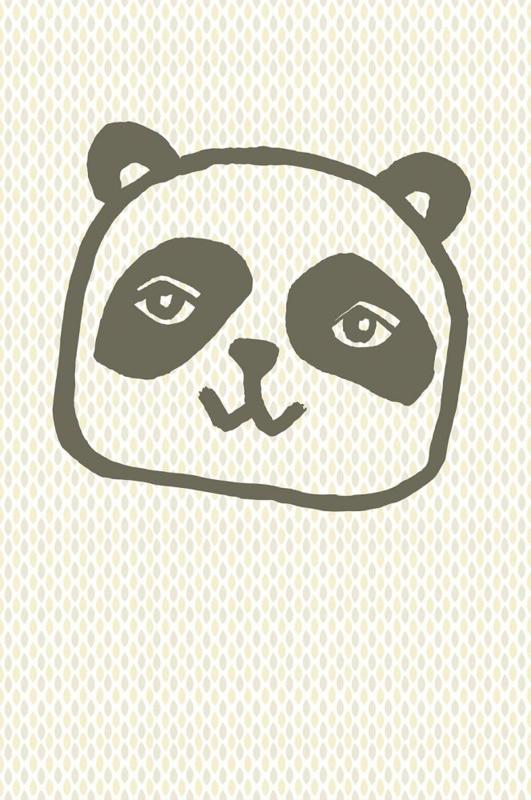 Eijffinger Wallpower Junior 364103 Panda Retro