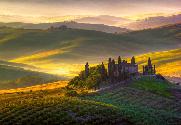 Fotobehang Idealdecor 00978 Toscanië
