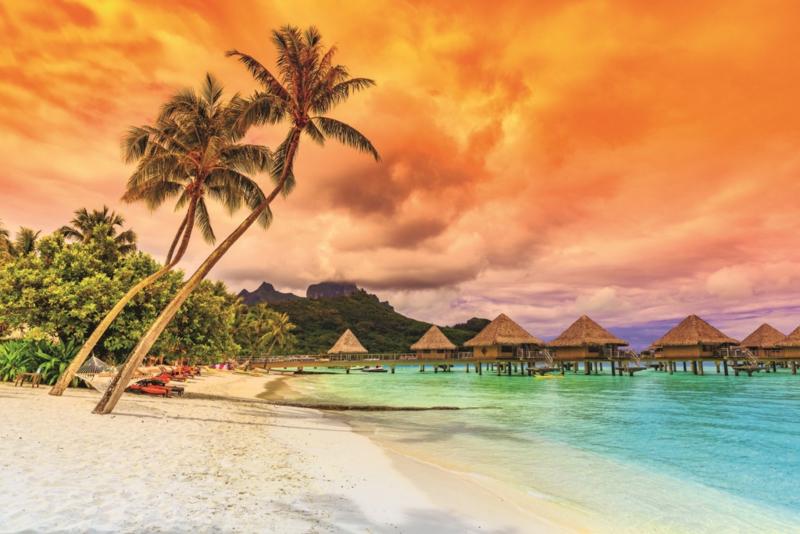Fotobehang Polynesië