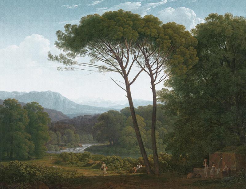 Dutch Painted Memories 8009 Italian landscape Hendrik Voogd