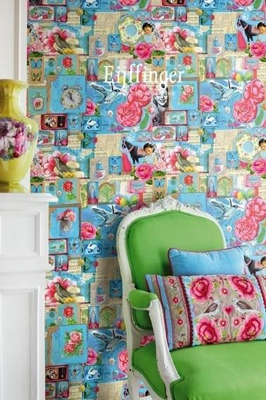Eijffinger Pip Studio Wallpower 313111 PiP Art blue