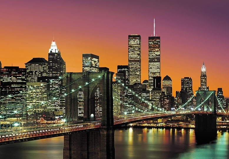 Fotobehang Idealdecor 00139 New York City