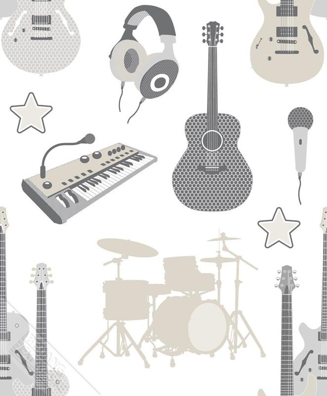 Behangexpresse Thomas - 27140 muziekinstrumenten