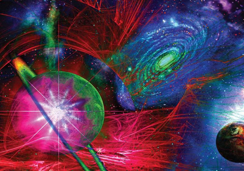 Fotobehang Planeten Abstract