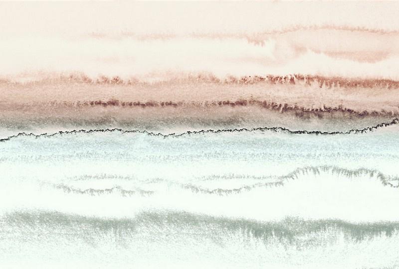 Fotowand Within the tides 3 by Monica Strigel afm. 400cm x 270cm hoog
