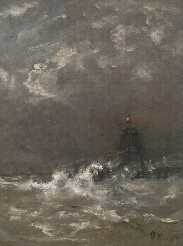 Dutch Painted Memories 8017 Lighthouse Willem Mesdag