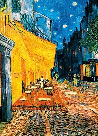 Fotobehang Idealdecor 00420 Vincent van Gogh Terrasse de Café la Nuit