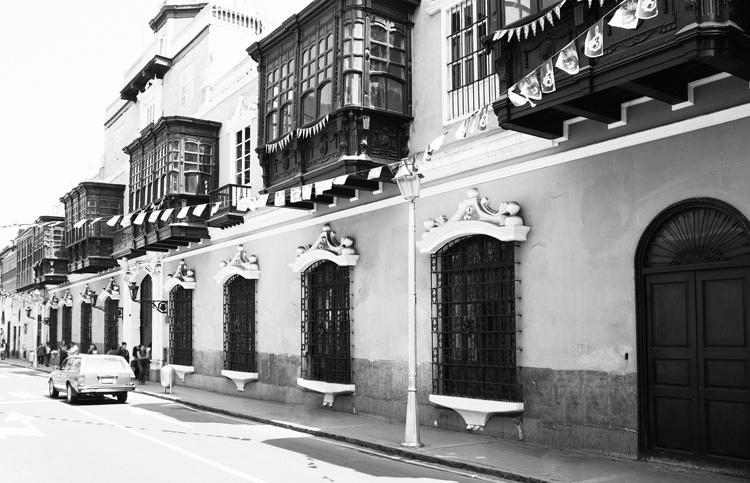 Fotobehang City Love CL58B Lima
