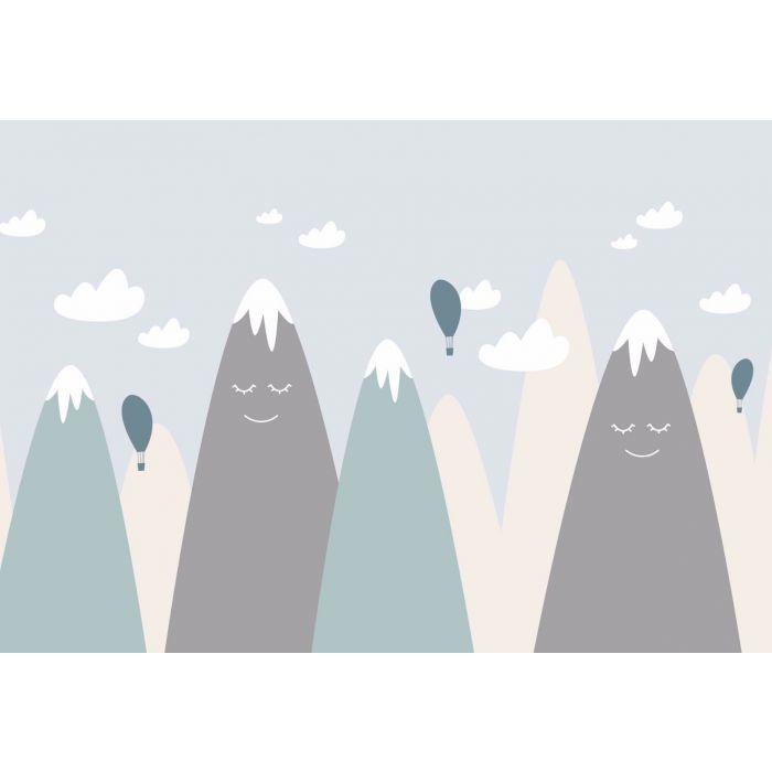 Fotobehang Sleepy Mountains
