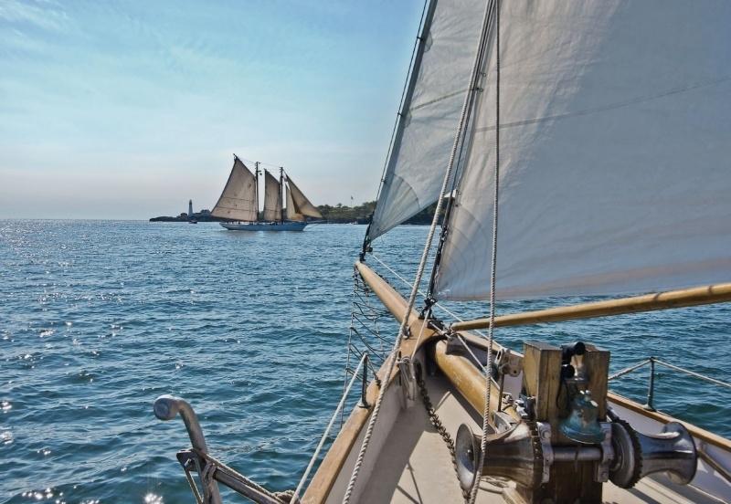 Komar National Geographic fotobehang Sailing 8-526