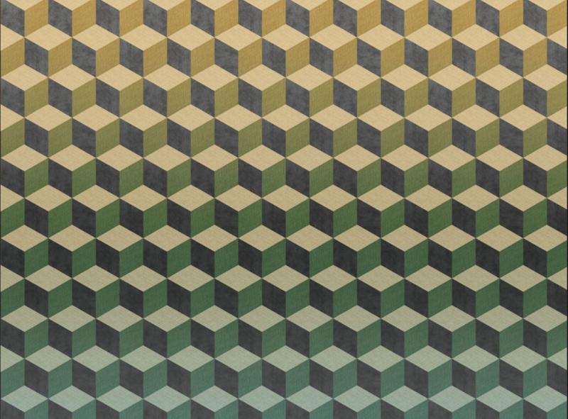 BN Cubiq 200415 Fading Cube Mural