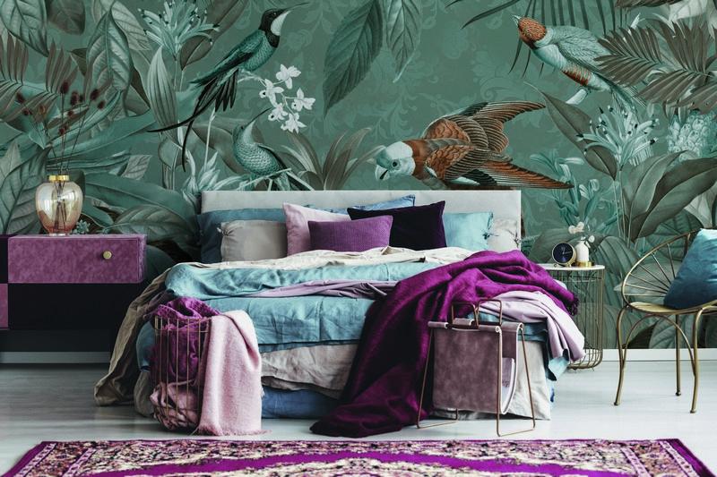 Fotowand Tropical jungle by Andrea Haase afm. 400cm x 270cm hoog