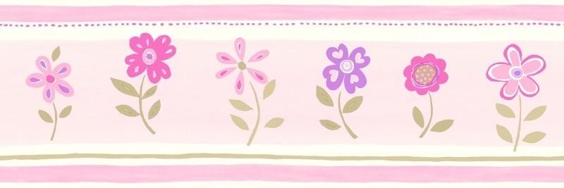 Esta Giggle 177302 Behangrand bloemetjes