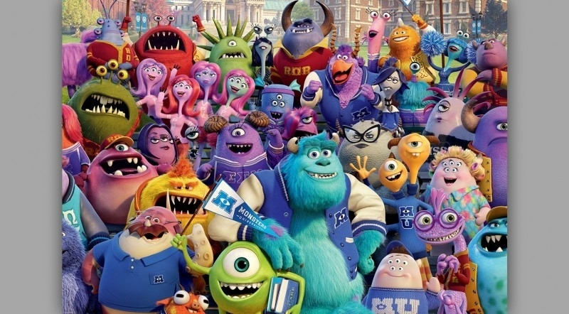 Fotobehang  Disney Monsters University