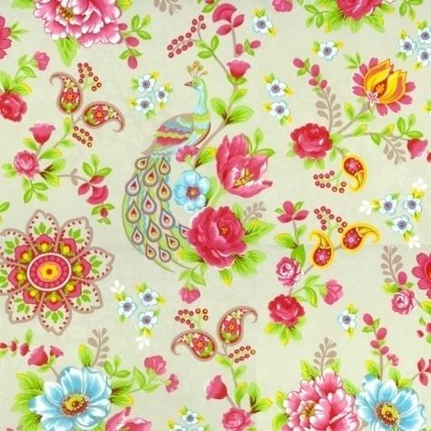 Eijffinger Pip Studio behang 313052 Flowers in the Mix Khaki