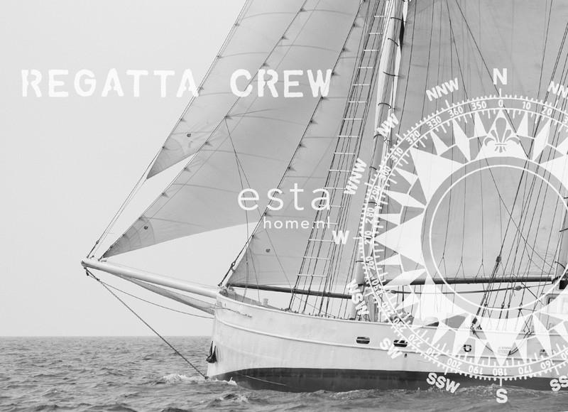 Esta Home Regatta Crew (F) 156430 PhotowallXL Schooner
