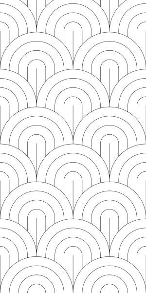 Esta Black&White 158935 photowall XL Scales pattern