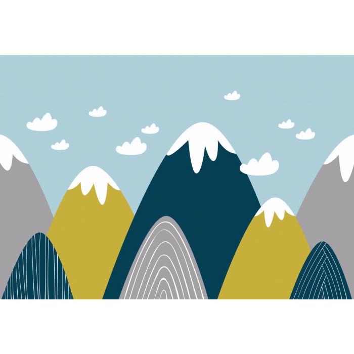 Fotobehang Mountains Little & Big