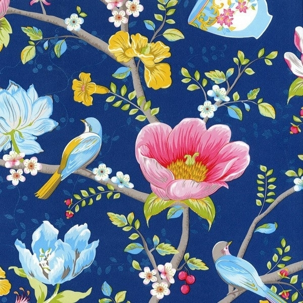 Eijffinger Pip Studio behang 341003 Chinese Garden Blue