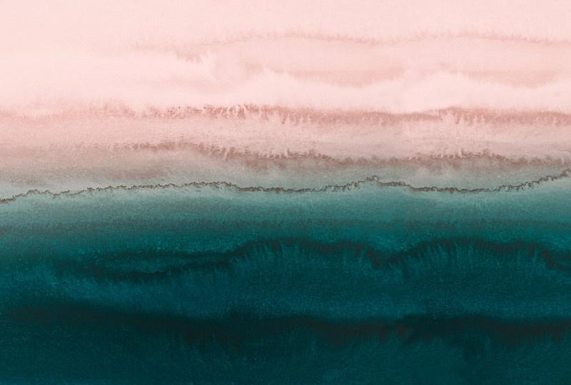 Fotowand Within the tides 1 by Monica Strigel afm. 400cm x 270cm hoog