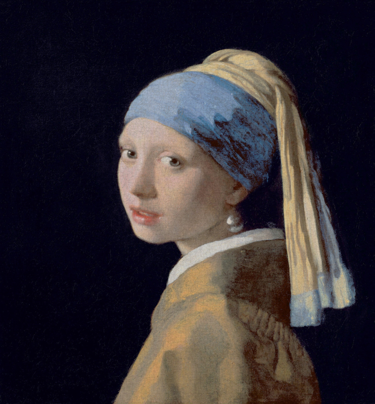 Dutch Painted Memories 8089 Girl with the pearl