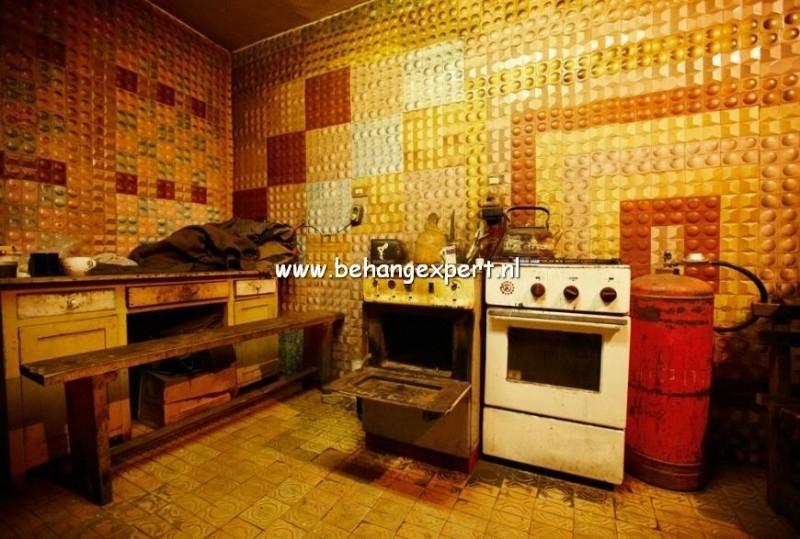 Fotobehang AP Digital 470056 Kitchen Old Style