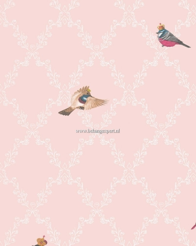 Kinderbehang Glööckler Children`s Paradise 54112 vogeltjes