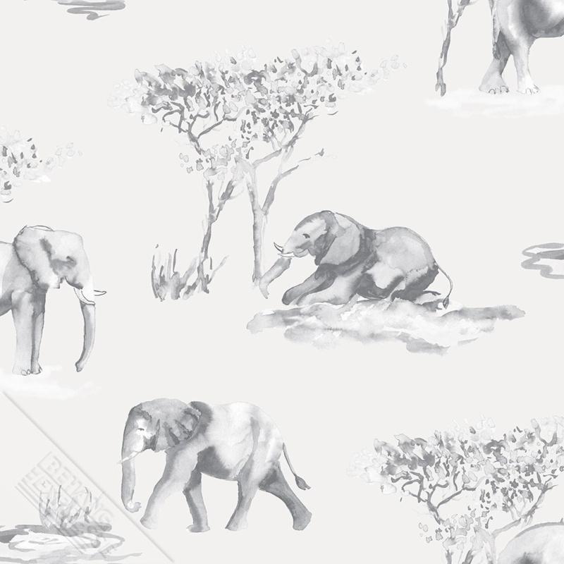 Behangexpresse Thomas - 27145 olifanten