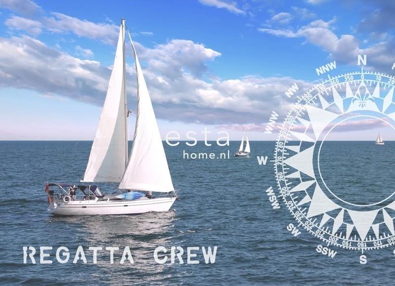 Esta Home Regatta Crew (A) 156434 PhotowallXL Ocean blue