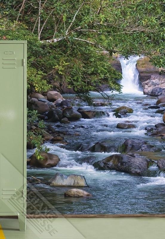 Fotobehang Wallpaper Queen ML238 waterval
