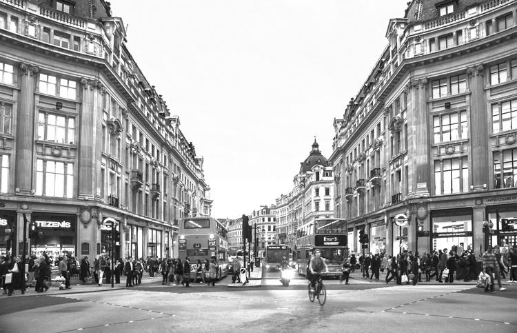 Fotobehang City Love CL11B London