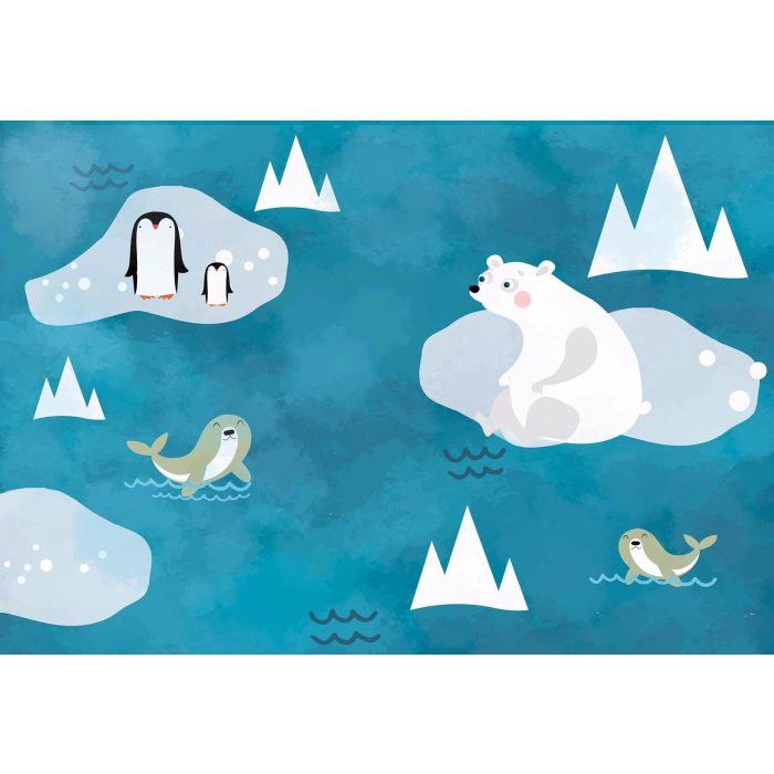 Fotobehang  Polar & Pengi