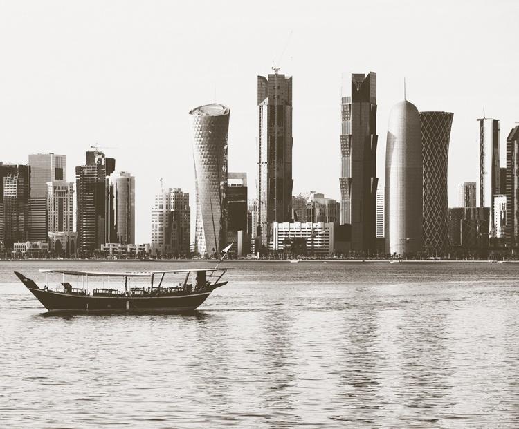 Fotobehang City Love CL74A Doha