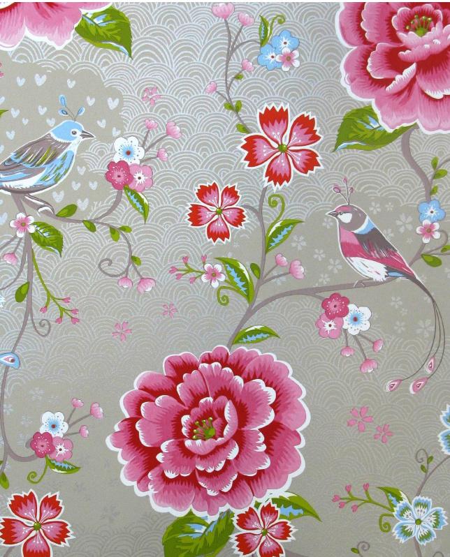 Eijffinger Pip Studio behang 313014 Birds in Paradise Khaki