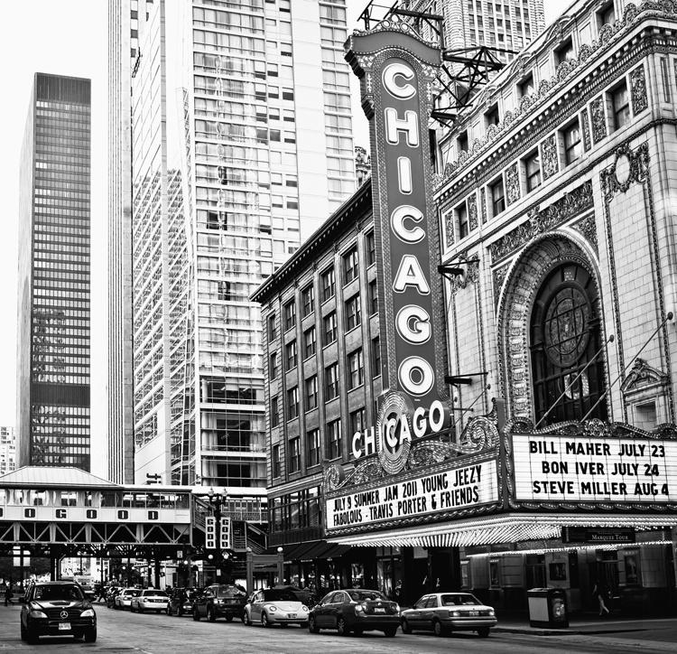 Fotobehang City Love CL36B Chicago