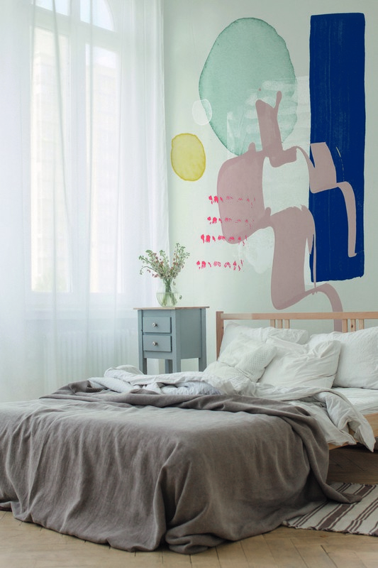 Fotowand Wish by Leemo afm. 400cm x 270cm hoog